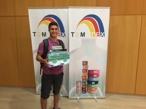 Imagen del ganador del sorteo de la Jornada Fisioterapia y deporte