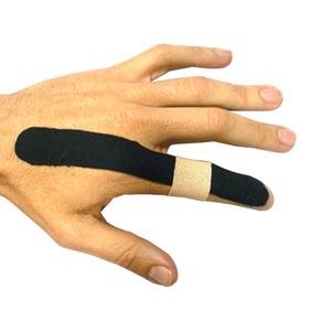 Texto para lesión de dedo