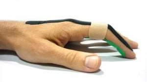 lesion de dedo